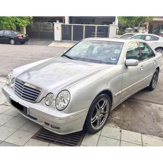 Mercedes Benz E240 2.4(A) 1 OWNER MUST VIEW W210