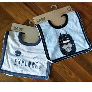 BN Cotton On Baby Bib