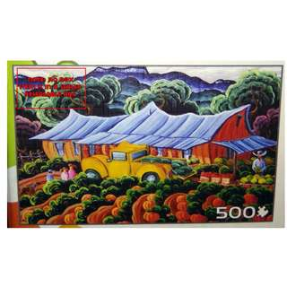 Jigsaw Puzzle - 500 pieces -  Market Day