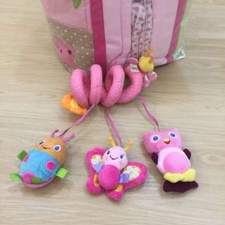 Baby crib or stroller toy