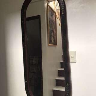 Vanity whole body mirror