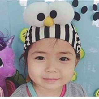 Cute Elmo Black Stripes Headband