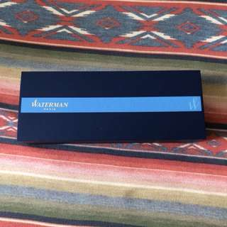 Waterman paris 盒