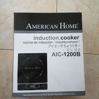 Brand new American Home induction cooker (AIC-1200B)