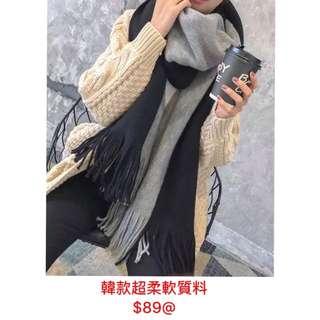 韓國超柔軟頸巾