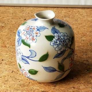 Small Hand painted ceramic vase