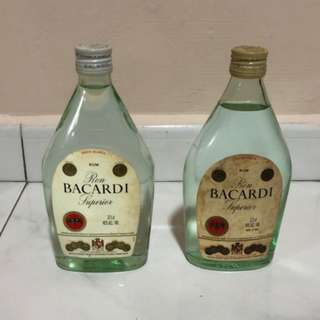 BACARDI Superior - 1980s 38cl