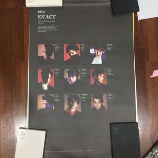 WTS EXO EX'ACT OFFICIAL POSTER