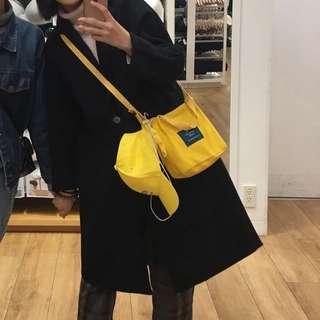 可愛黃色小包包