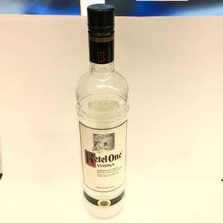 Ketel One sealed empty display bottles