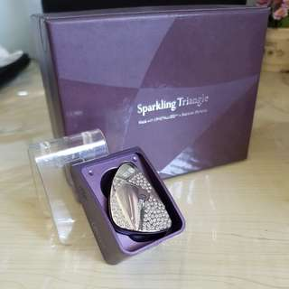 Sparkling Triangle Bluetooth Headset from LG