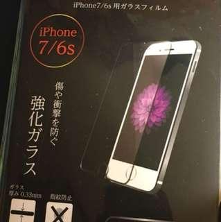 iPhone 7/6s 玻璃貼9H硬度