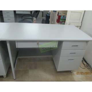 J SERIES SET OFFICE TABLES WIDE FIXED CABINET--KHOMI