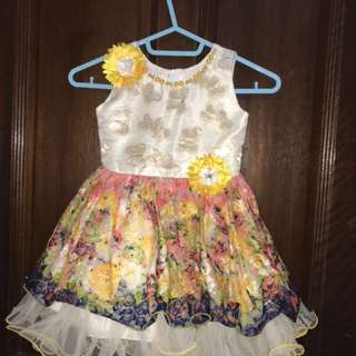 Baby girl party dress 12-18 months