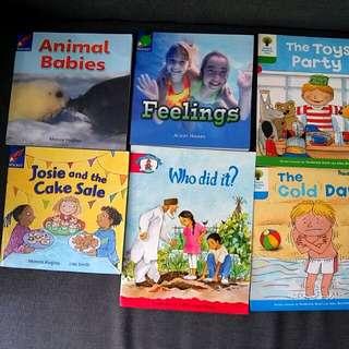 10 Oxford reading tree Rocket & Epb phonics english books