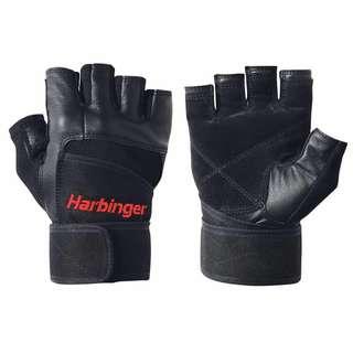 25% OFF RRP $39.99 Harbinger Men's Pro Wristwrap Weight Gloves Large