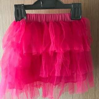Tu Tu skirt ( Pink )