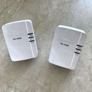 Trendnet tpl-406e ethernet extender