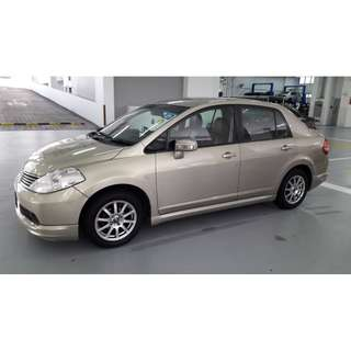 CAR FOR RENT CHINESE NEW YEAR - NISSAN LATIO (5 PAX)