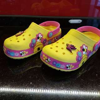 Unisex Kid's Crocs Shoes with Flashing Lights