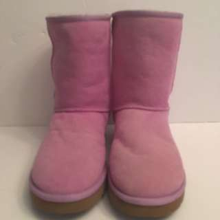 Authentic Ugg Australia pink suede & Shearling boots