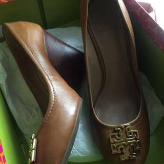 TORY BURCH WEDGES UK 6.5 AUTHENTIC