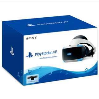 PlayStation VR Version 2 + Camera With 2 Free Games