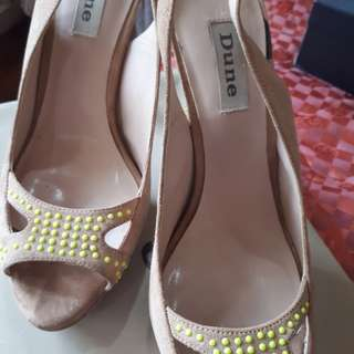 Dune studded shoes
