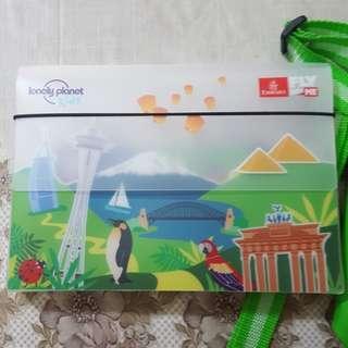 Emirates plastic folder