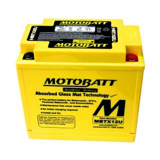 Motobatt Quadflex Battery MBTX12U