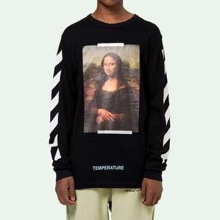 Off white Mona Lisa sweater s