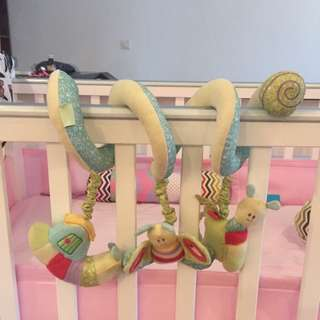 Stroller/Cot Hanging Activity Spiral Toys