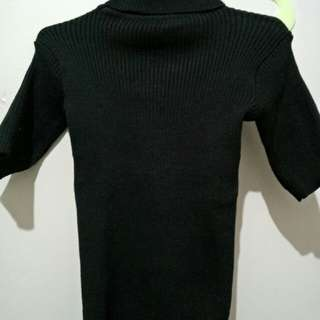T-shirt turtleneck