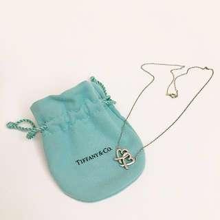 Tiffany & co. Loving Heart扣鎖項鍊