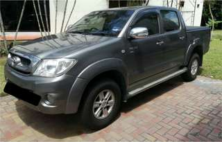 2010 Toyota Hilux 2.5 (A)