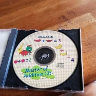 Shichida addition tensai cd