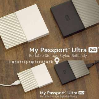 全新行貨- 全新行貨- Western Digital WD My Passport 1TB HDD 外置硬盤