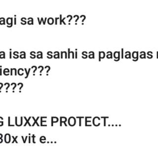 Luxxe protect/puregrapeseedoil