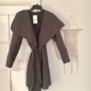 BNWT In the Style Wrap Coat