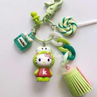 Kerropi kitty fob bag charm