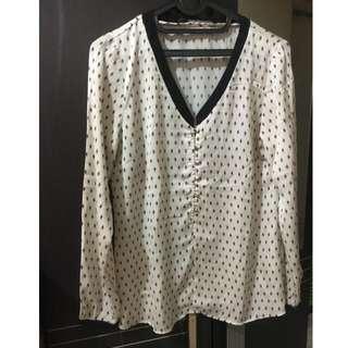 Kemeja Zara blouse top