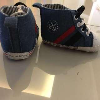 Mamas & Papas baby shoes