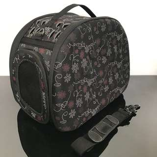 Pet carrier cage carry box dog cat kitten puppy not backpack haversack
