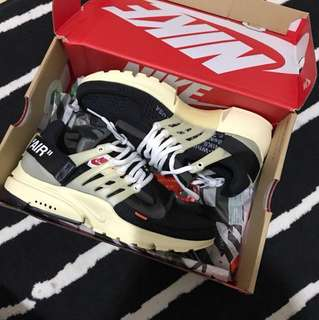 UA / FAKE Nike Presto X Off White