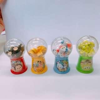 日本迪士尼TsumTsum迷你扭蛋擦膠機