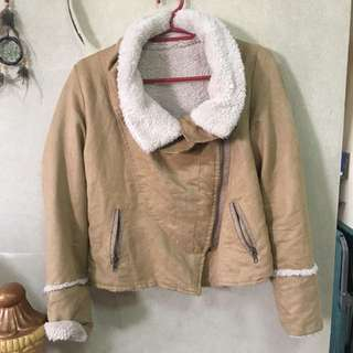 Suede Winter Jacket