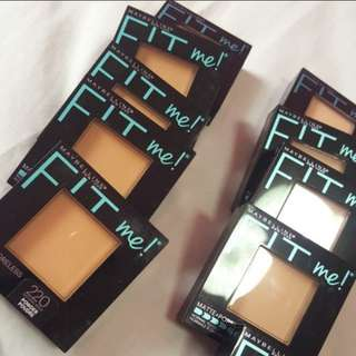MAYBELLINE FIT ME PRRSSED POWDER