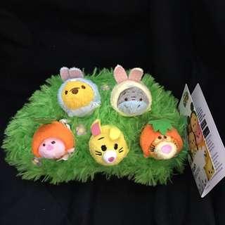 Pooh family Tsum Tsum set