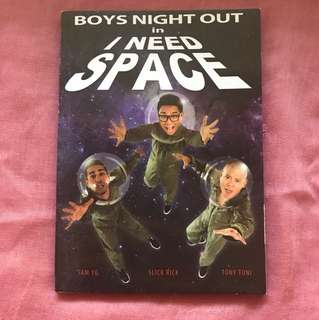 Boys Night Out in I Need Space