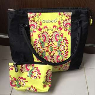 Gabag diaper bag